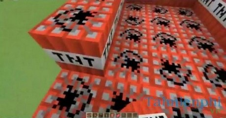 cach tao thuoc no trong minecraft