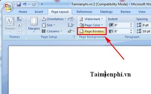 cach tao vien cho mot trang word tao border cho 1 trang van ban 2