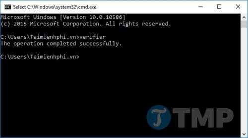 cach tat bat driver verifier tren windows 10 2