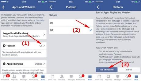 Cách tắt lời mời chơi game, ứng dụng Facebook trên điện thoại