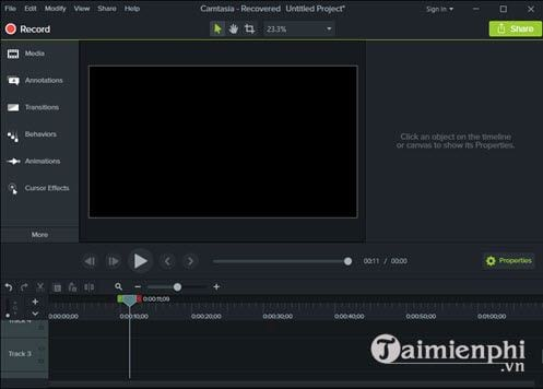 How to add animations to video with camtasia studio 2