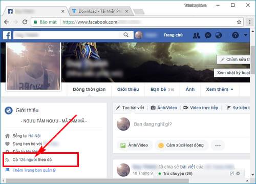 cach xem so nguoi dang theo doi facebook cua minh nhu the nao 2