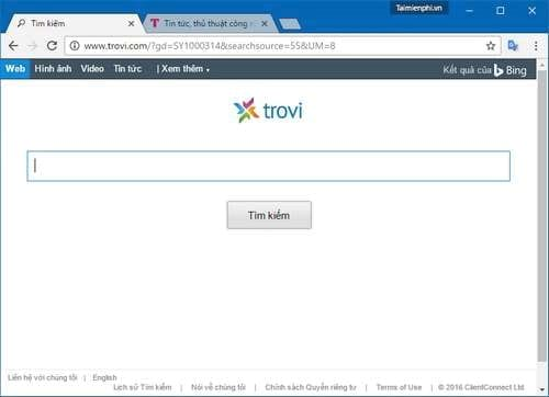 cach xoa go bo remove search surfilters com my bing com surfilters the coupon store 2