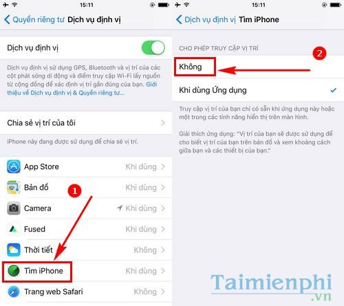Cách xóa tài khoản Apple ID, delete iD Apple trên iPhone, iPad 1