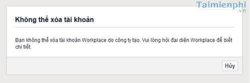 cach xoa tai khoan facebook workplace 2