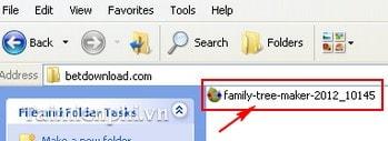 Cách cài đặt phần mềm lập gia phả Family Tree Maker