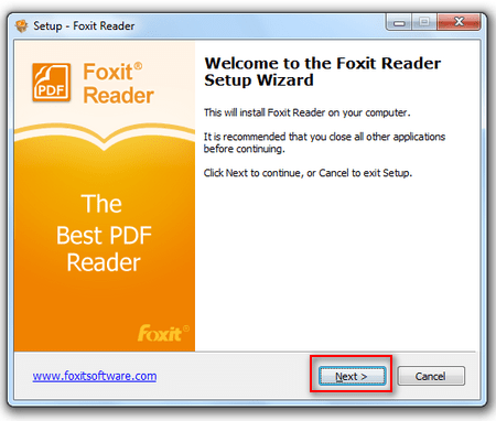 cai Foxit Reader tren may tinh