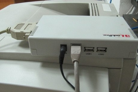 cai dat may in mang bang printer server