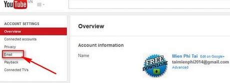 Language settings for youtube
