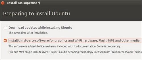 cai flash tren ubuntu