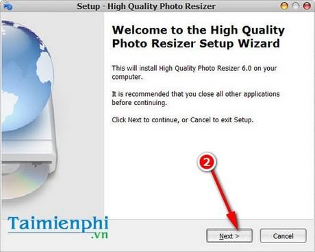 Cài High Quality Photo Resizer, phần mềm giảm dung lượng ảnh trên Win 7, 8, 10