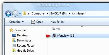 Cách cài IrfanView trình diễn ảnh động trên máy tính