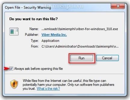 huong dan download Viber for windows
