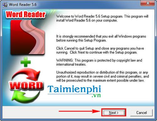Cách cài Word Reader đọc file Word .doc, .docx, .txt dễ dàng