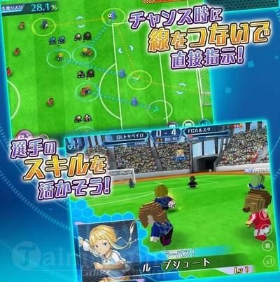 calcio fantasista game mobile bong da dac sac da mo dang ky truoc 2