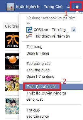 cap nhat status facebook qua tin nhan sms