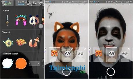 Chèn hiệu ứng vào ảnh, video trong Messenger