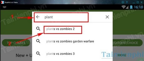 choi plants vs zombies 2 tren pc bang droid4x