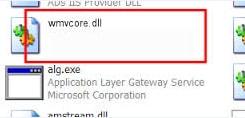 Chữa lỗi thiếu file WMVCore.DLL