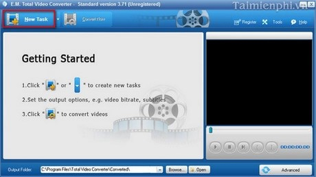 huong dan chuyen doi video bang total video converter