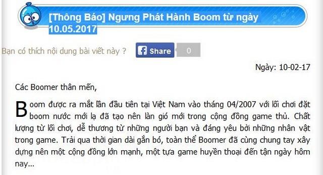 con lai gi sau khi boom online ngung van hanh tai viet nam 2