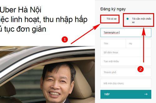 dang ky tai xe taxi uber 2