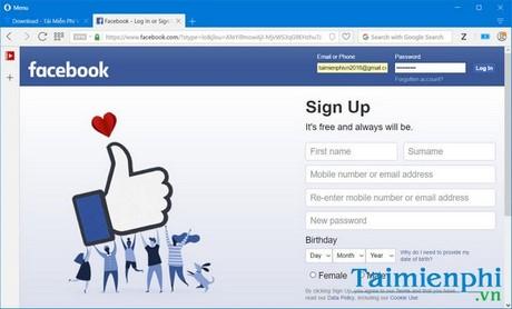 Đăng nhập Facebook bằng những cách sau đây