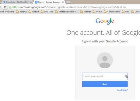 Cách đăng nhập nhiều tài khoản, email trên trình duyệt