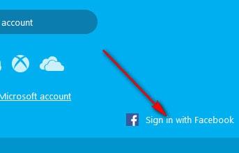 vao skype bang facebook