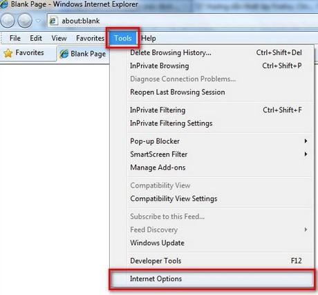 Đặt Internet Explorer (IE) làm trình duyệt mặc định