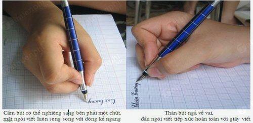 Cách luyện viết chữ đẹp 1
