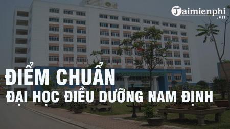 diem chuan dai hoc dieu duong nam dinh