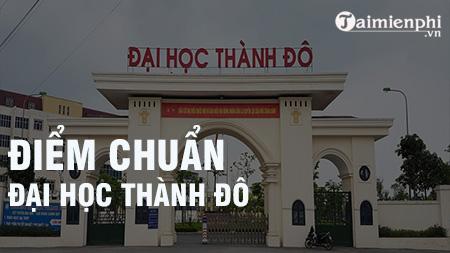 diem chuan dai hoc thanh do