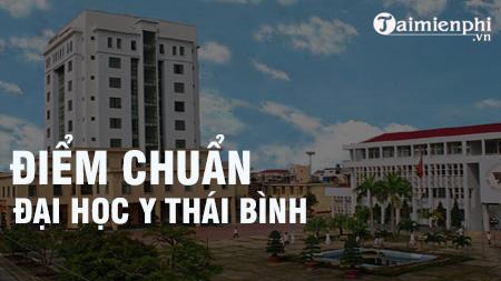 diem chuan dai hoc y thai binh