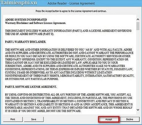 xem file pdf bang adobe reader