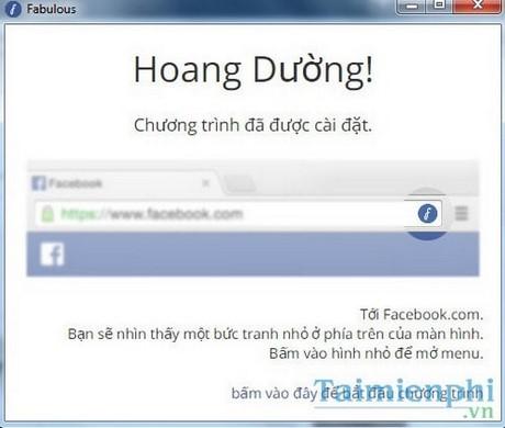 Đổi giao diện Facebook bằng Fabulous trên Chrome
