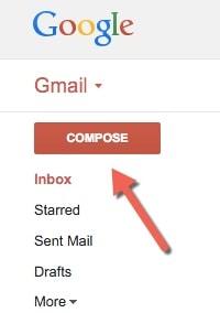 doi kich thuoc khi soan mail trong gmail