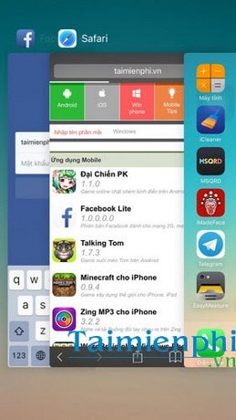dong ung dung tren iphone