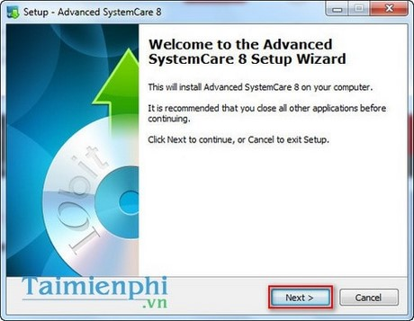 cach cai dat advanced systemcare free