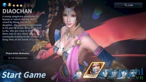 dynasty warrior choi game tam quoc tren dien thoai android iphone ipad 2