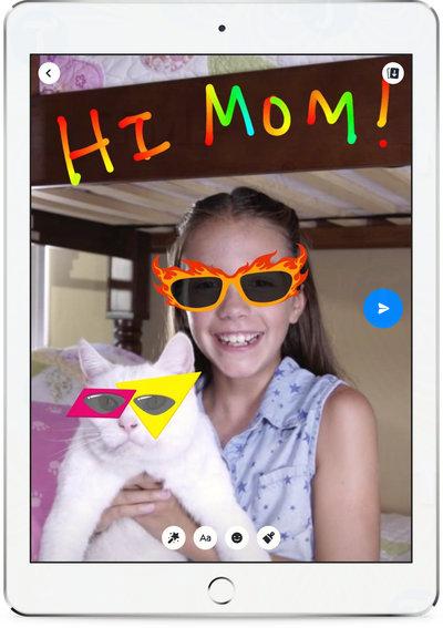 facebook ra mat phien ban messenger kids 2
