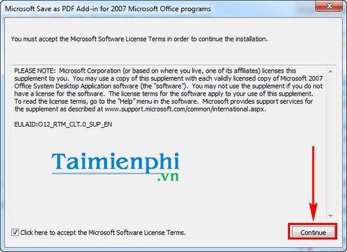 Cách chuyển file Word sang PDF trong Word 2007 1