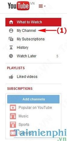 Chèn link Facebook vào YouTube, gắn link Face lên kênh Youtube