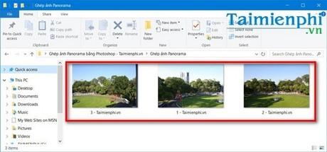 Cách ghép, tạo ảnh Panorama bằng Photoshop