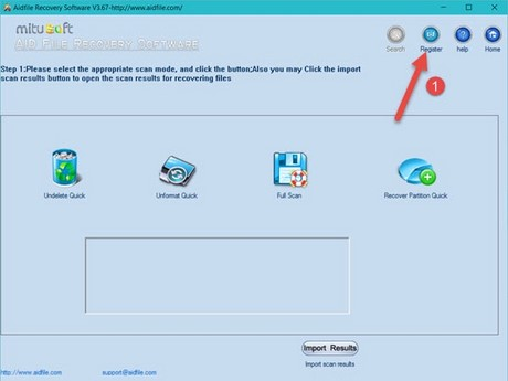 giveaway aidfile format drive recovery mien phi