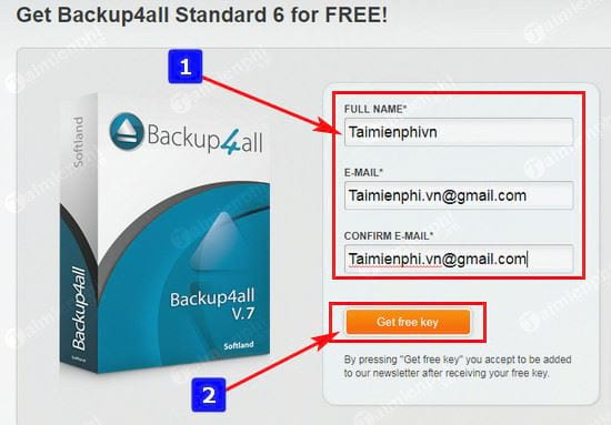 giveaway ban quyen mien phi backup4all standard 6 phan mem sau luu du lieu tu 27 4 2