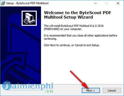 giveaway ban quyen mien phi bytescout pdf multitool chuyen doi file pdf