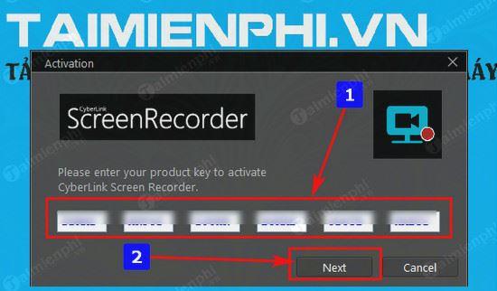 giveaway ban quyen mien phi cyberlink screen recorder 2 2