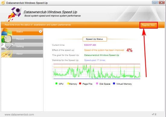 giveaway dataownerclub windows speed up mien phi