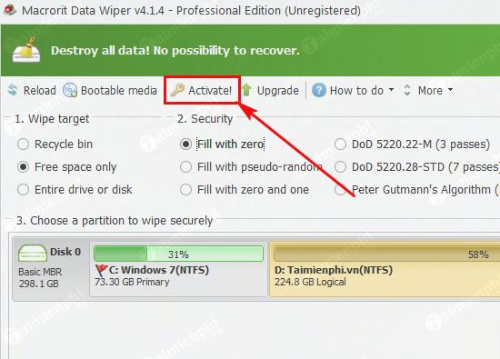giveaway ban quyen mien phi macrorit data wiper pro 2